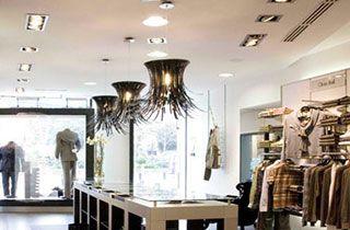 cadre aluminium boutique