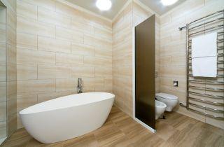 plafon led en baño
