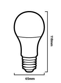 ampoule LED A65 E27