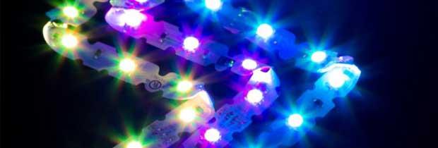 Tira LED de contorno ZIGZAG, flexible y adaptable a cualquier molde o diseño