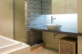tira led 24v en blanco frio en lavabo de casa