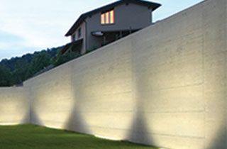 bañador led de pared para iluminación exterior