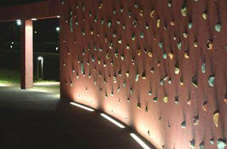 Iluminación para todo tipo de paredes y fachadas con el Bañador LED de pared