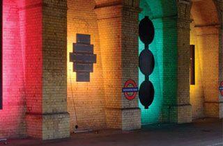 leche mur extérieur LED