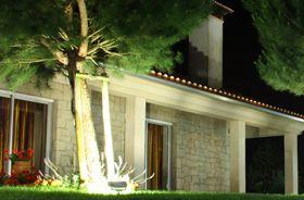 projecteur led éclairage jardin