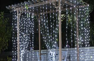 Acheter rideau lumineux LED extérieur 3m 10 rangs