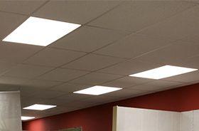 panneau LED couloir