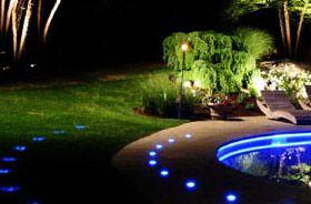 kit lumière piscine extérieur