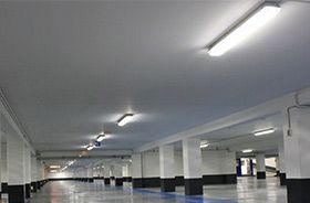 réglette led ip65 parking