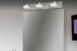 Luminaire LED salle de bain 15W 3 têtes