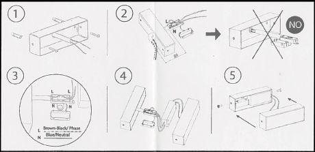 Applique LED Samba triple instructions