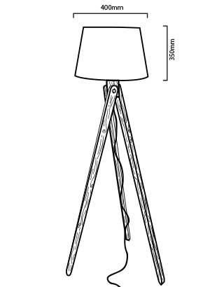 luminaire LED nashua dimensions
