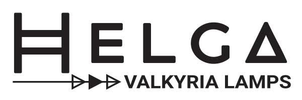 Etiqueta de la lámpara Helga de la serie Valkyria