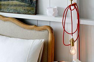 décoration cable chambre