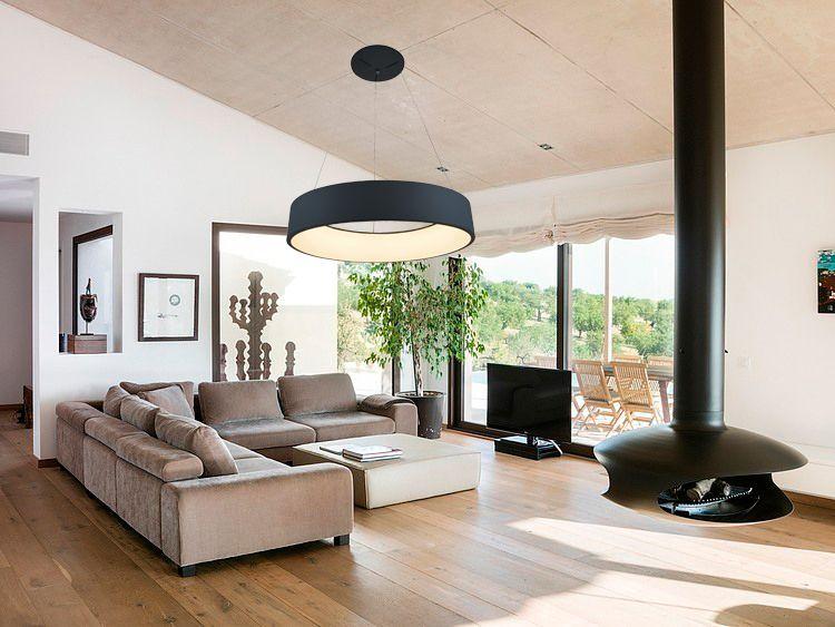 idée décoration lampe de suspension design 36w