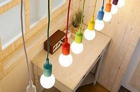 colgantes de colores de silicona baratos