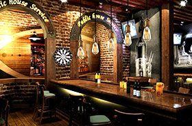 colgante para bar vintage