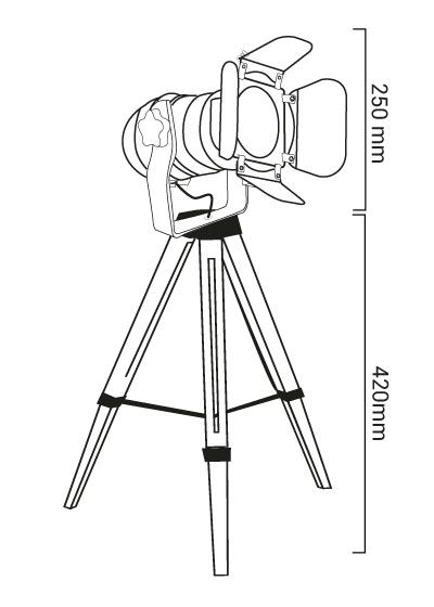Trépieds cinéma2 dimensions