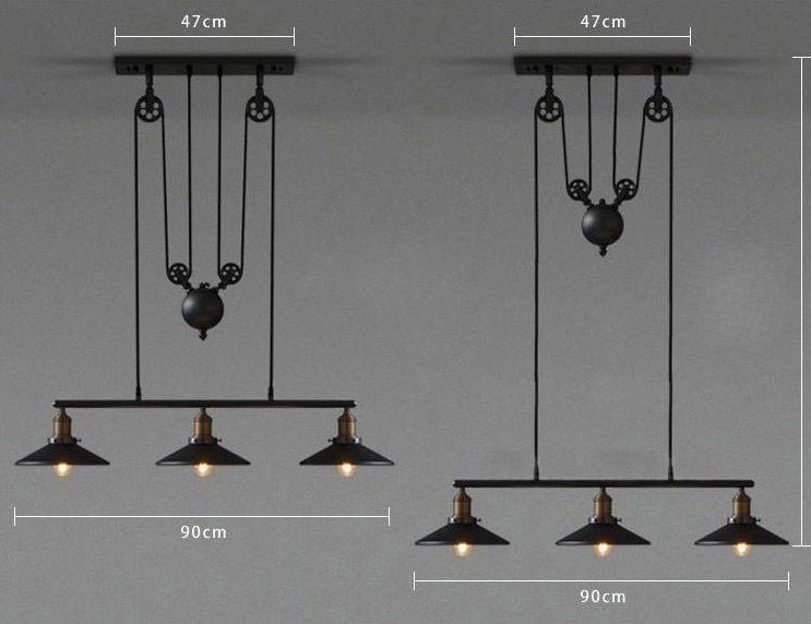 Taille lampe clock work