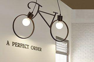 lampara decorativa para cafetería