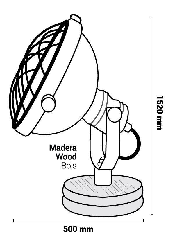 Lampe de table Neuto dimensions