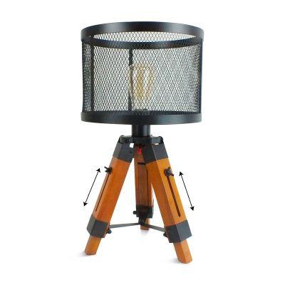 Medidas de la lámpara tripode