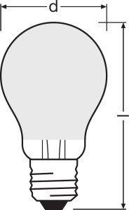 Ampoule LED dimmable parathom retrofit