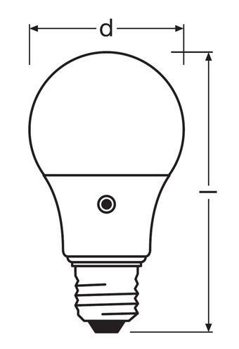 ampoule led E27 Osram