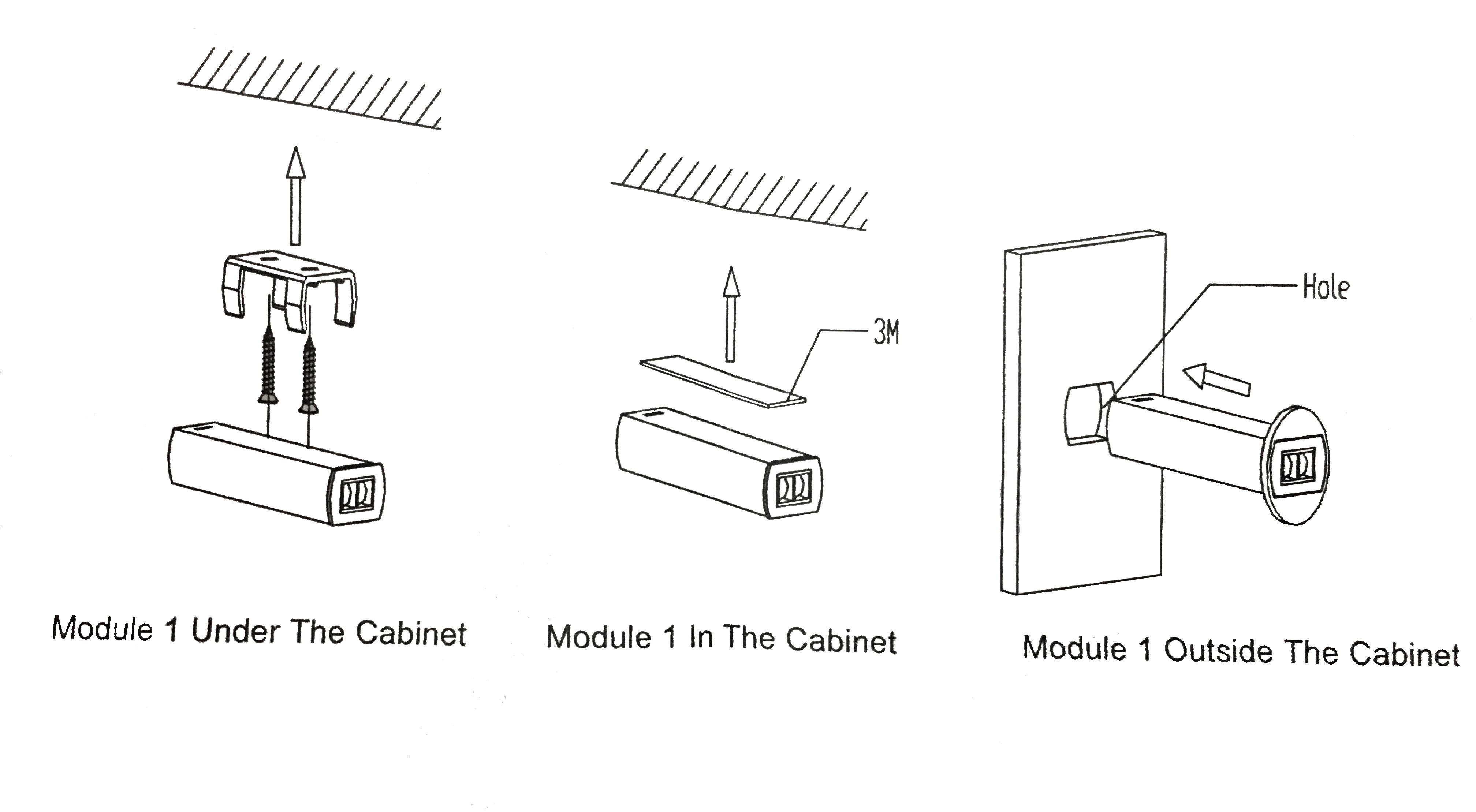 détails installation capteur infrarouge