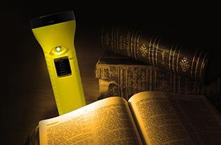 Linterna de lectura