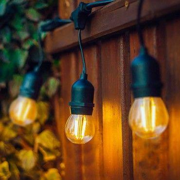 ampoule led E27 filament rétro