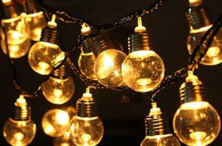 Ampoule E27 lumière de fée