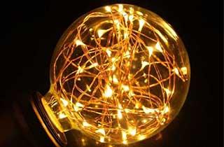 ampoule LED bulbe fée