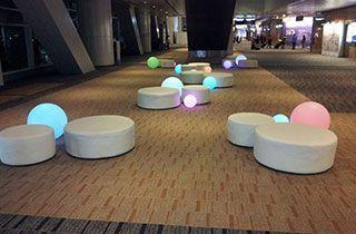 Boule LED 60cm décoration extérieur