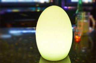 oeuf lumineux led 1W RGB