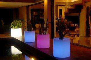vase lumineux LED 5W 40cm