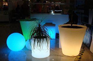 jardiniere lumineuse LED 5W 40cm