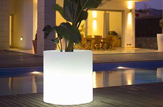 vase lumineux LED RGB 5W 40cm